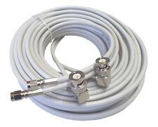 20m Low loss TWIN-Koaxkabel für Novero Dabendorf MIMO-Antennen 800/1800/2600 MHz