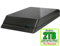 New Avolusion HDDGear 2TB (2000GB) USB 3.0 External XBOX ONE Gaming Hard Drive
