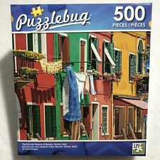 500pcs Colorful Houses Burano Venice Italy Europe Building Jigsaw Puzzle Game