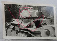 original  Foto   Frankreich 1940 frz. Panzer mit Turmmarkierung Krummdolch 235