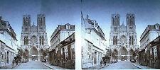 Photographie cathédrale de Reims. vers 1930