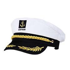 Captain Hat Cap Costume Navy Marine Admiral Hat for Costume Accessory