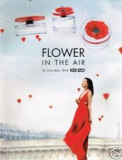 Publicité advertising 2014 Parfum Flower in The Air by Kenzo