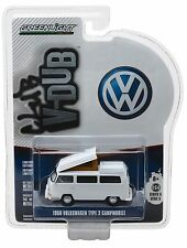 1:64 GreenLight *CLUB V-DUB R5* WHITE 1968 VW Volkswagen Type 2 Campmobile NIP!