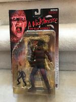 McFarlane Toys Freddy Krueger - A Nightmare on Elm Street Movie Maniacs... MOSC