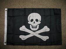 3x5 Pirate Edward England Samuel Bellamy No Patch Flag 3'x5' Nylon Poly Banner
