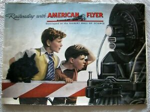 RARE AUTHENTIC 1946 AMERICAN FLYER TOY TRAIN SETS COLORFUL  ADVERTISING CATALOG!
