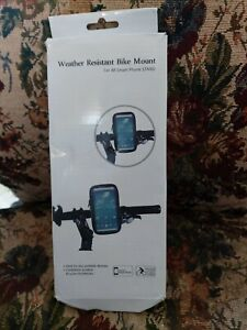 Weather Resistant Bike Mount for All Smart Phone Stand - M1