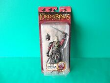 "Lord of the Rings Two Towers King Theoden in Armor 6.5""in Sword Slashing Figure"