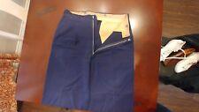 Rockabilly 50s Mens Gabardine Pants Navy Blue 31×29