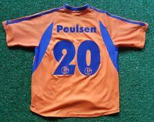 FC Schalke 04 kids Trikot 157 Adidas shirt jersey orange Victoria Versicherungen