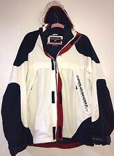RARE! Vintage RALPH LAUREN POLO SPORT Logo Windbreaker Hooded Jacket Mens Large