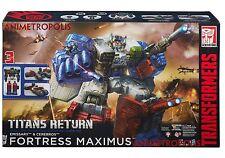 Transformers Generations Titans Return Fortress Maximus Emissary Cerebros DHL