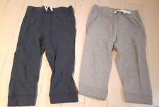 JOE FRESH Baby Boy Set of 2 Pyjama Pants Blue & Grey 18-24 Months