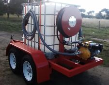 Fire Fighting Trailer with Davey Honda Pump