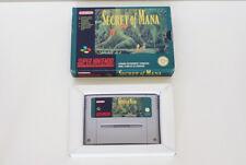 Super Nes Nintendo Snes - Secret of Mana (SFRA - Français) BOITE + JEU