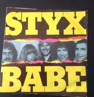 Styx Babe  vinyl single