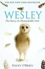 Wesley: The Story of a Remarkable Owl by Stacey O'Brien Paperback Book The Cheap