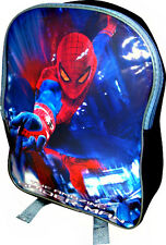 Spiderman The PVC Front School Bag Rucksack Backpack Gift