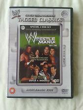 WWE Tagged Classics - Wrestlemania 2000 16 DVD WWF Rare
