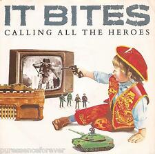 """IT BITES - Calling All The Heroes (UK 2 Trk 1986 7"""" Single PS)"""