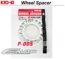 JDM Kics KYO-EI 5mm Rim Wheel Spacer 4x100 4x114 5x100 5x114 5x112 PCD 98-144 e