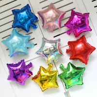 5/10Pcs Five-pointed Star Foil Helium Balloons Wedding Birthday Party Decor H7