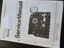 Original Service Manual  Philips Recorders Tape Deck RTS-1