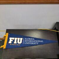 Vintage Felt Pennants-Florida International University; 2 identical pennants VG