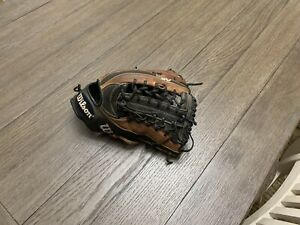 "Wilson A2K KP92 12.5"" Trapeze Baseball Brown Black"