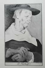 Estampe par Mariette Lydis Molière Tartuffe 1939 - 1/220 ex. sur vélin teinté 6