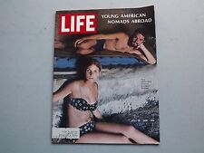 LIFE Magazine July 19 1968 ~ Young American Momads Abroad ~ 60s Ads