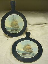 Clover Leaf Melamine Chopping Board Heat&Stain Resistant SET OF 2-CLIPPER SHIPS