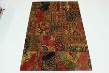 moderne Patchwork délavé look antique PERSAN TAPIS tapis d'Orient 3,02 X 2,00