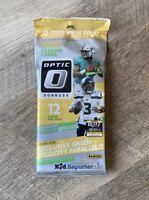 2020 DONRUSS OPTIC NFL FOOTBALL CELLO FAT/VALUE PACK BURROW HERBERT RC GREEN