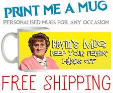 PERSONALISED MRS BROWNS BOYS FECKIN' MUG - FREE SHIPPING