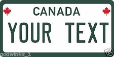 Canada Military License Plate Personalized Auto Car Custom VEHICLE OR MOPED