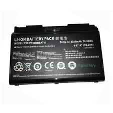 Genuine P150HMBAT-8 6-87-X710S-4273 Battery for Clevo P170HM P150SM  P170SM-A