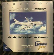 Gemini Jets El Al Boeing 747-400 - GJELY032 - 1:400