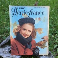 Votre Amie Marie France  N°161 - 23 Décembre 1947- Ancien Magazine Français