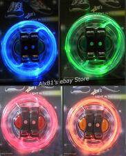 LED Light Up Flash Shoelace DISCO Latchet Shoe laces Glow Stick Neon Running
