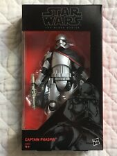 "Star Wars       FIRST ORDER  CAPTAIN PHASMA    BLACK SERIES 6""  N°6 - 2015"