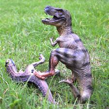 T-Rex Dinosaur Toy Tyrannosaurus Rex + Large Realistic Carnotaurus Action Figure