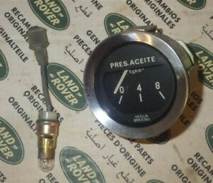 Genuine Land Rover Series 88 109 Series 3 Santana Oil Pressure Gauge 589137