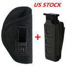 Tactical Right Hand IWB Soft Holster(Choose Model)& MOLLE Single Magazine Pouch