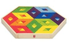 Hape Mosaic Puzzle in Bamboo Hape puzzle BRAND NEW
