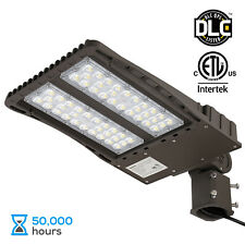 150W LED Parking Lot Light with Photocell, Slipfitter Mount Area Flood Light