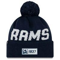 Los Angeles Rams Beanie NFL Football New Era Sideline 2019 One Size Wintermütze