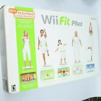 Nintendo / Wii Fit Plus / Balance Board & Game / Open Box / Complete