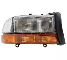 Headlight Assembly for Dodge Dakota Durango Passengers Lens w/ Park Signal Lamp